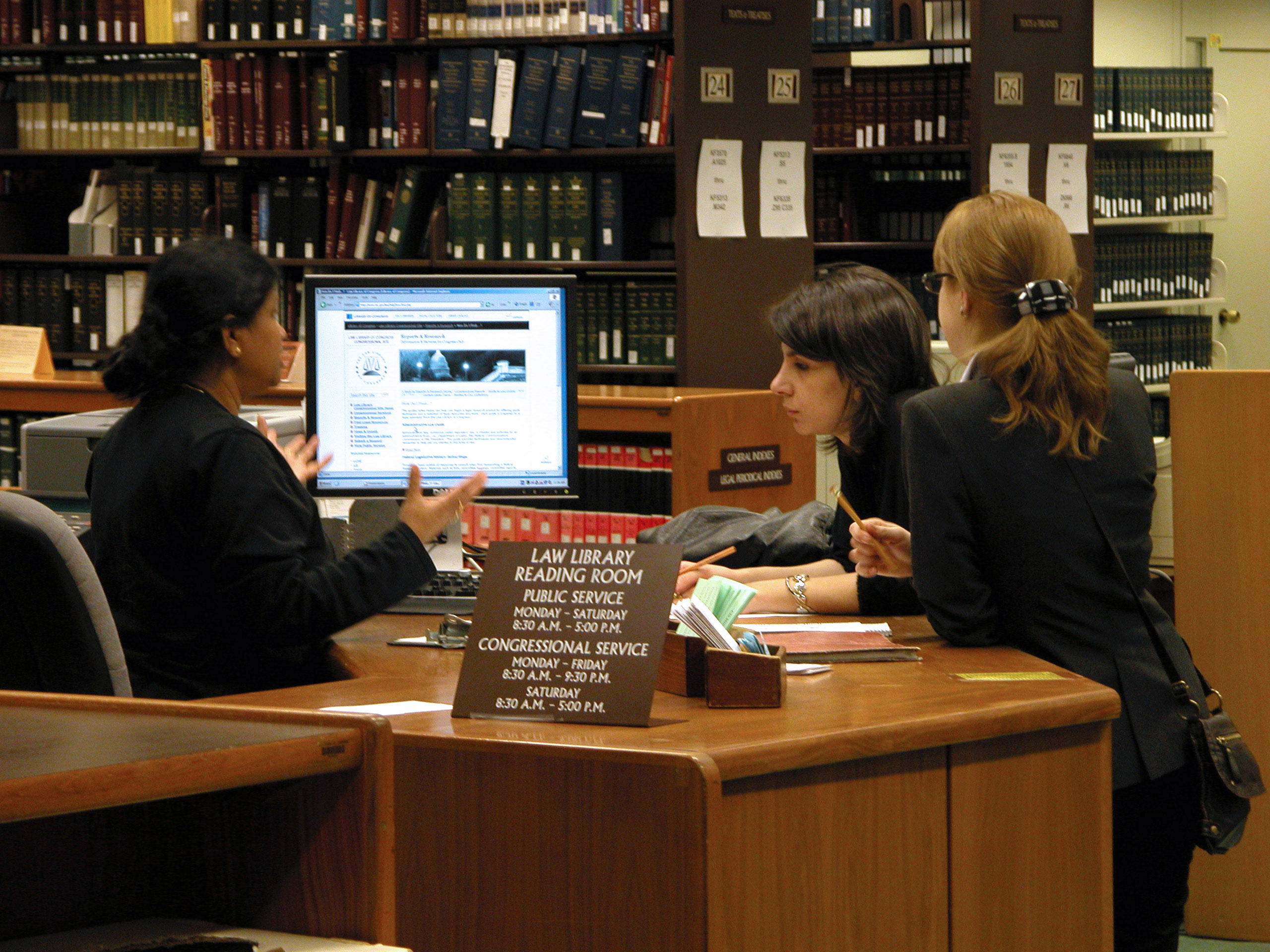 Library of Congress Reference Desk