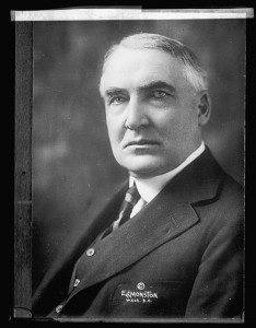 Warren G. Harding / Prints and Photographs Division.
