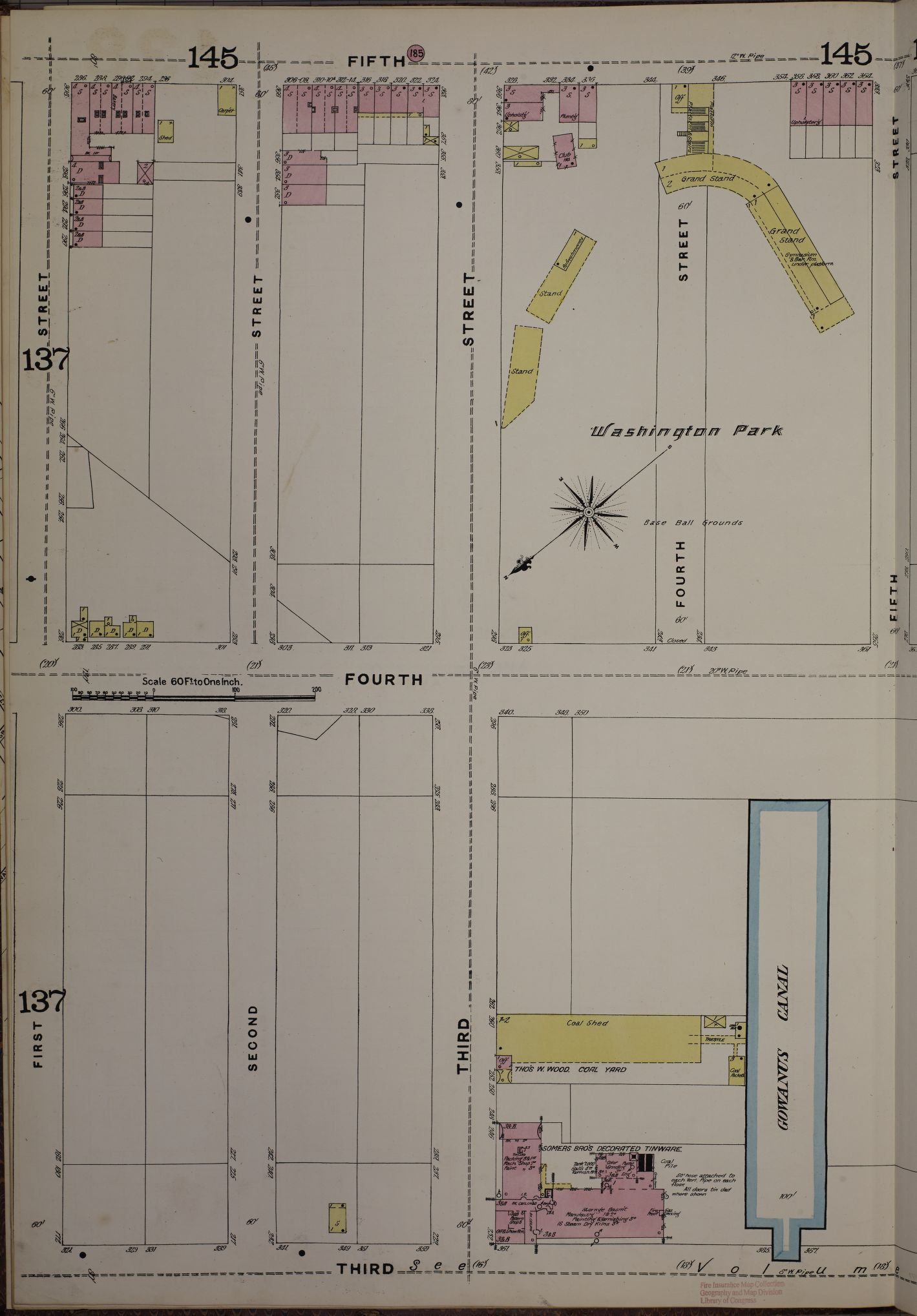 hight resolution of washington park sanborn map company 1888 volume 6 sheet 138l geography and