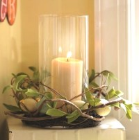Dining Table: Dining Table Candle Centerpieces