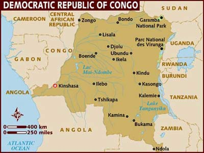 Africa At LSE Crunch Time In DR Congo Elections - Largest country in africa