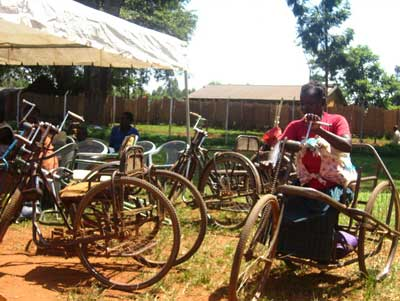 An innovative approach to mobility in Uganda  Credit: The Advocacy Project