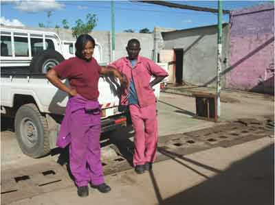 In modern day Zambia, women can now work as car mechanics or what ever roles they choose