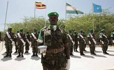 Should Amisom troops be placed by UN blue berets in Somalia?