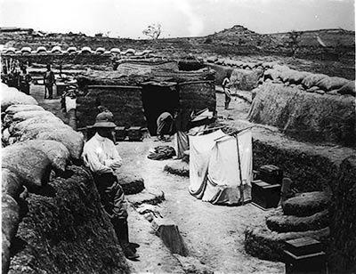 German trenches in Garoua