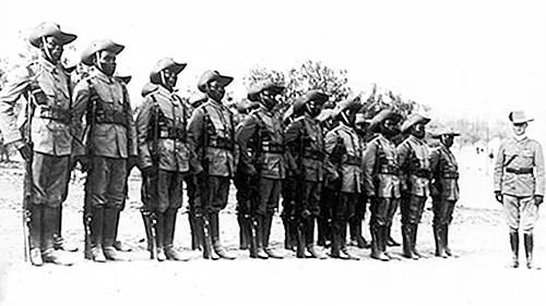 Défilé de l'unité camerounaise