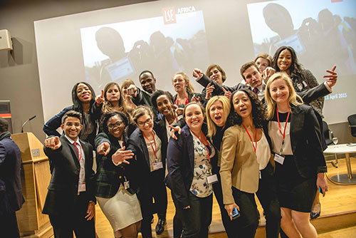 The LSE Africa Summit organising team!
