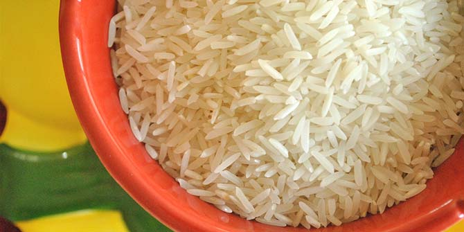 Rice is on the list of banned imports Credit: cookbookman17 via Flickr (http://bit.ly/1WeSv5v)