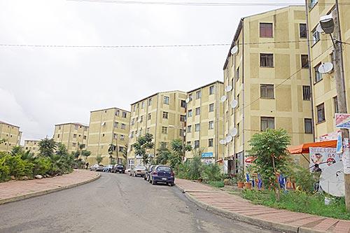 New housing developments in Addis Ababa Photo Credit: Julia Bird
