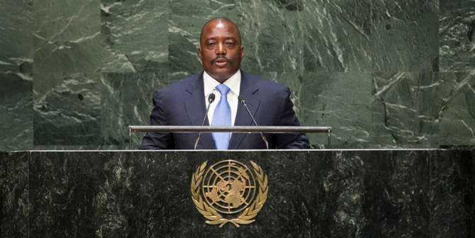 Will President Kabila stay or go? Photo Credit: MONUSCO Photos via Flickr CC BY-SA 2.0