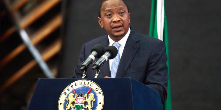 Uhuru Kenyatta makes a live national address about the cabinet reshuffle