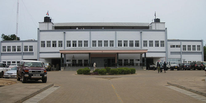 Parliament in Juba Credit: BBC World Service via Flickr (http://bit.ly/1QWoTs7) CC BY-NC 2.0