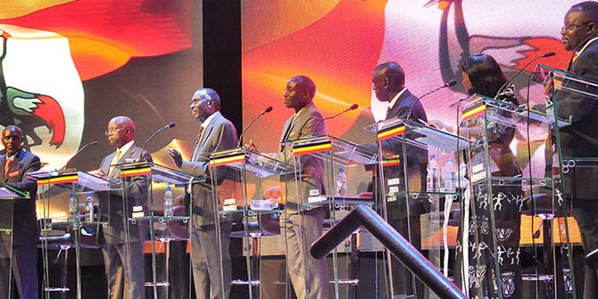 Uganda's first ever televised presidential debate was missing the incumbent and ultimate victor, President Museveni Photo credit: Godfrey