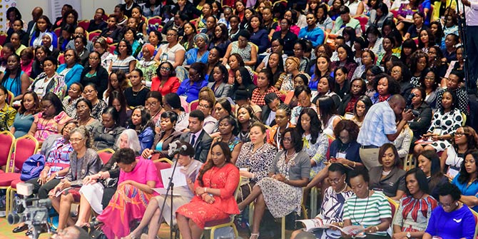 Participants at the 2015 WIMBIZ Annual Conference Photo credit: WIMBIZ.org