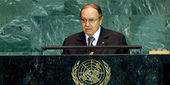 President Abdelaziz Bouteflika is Algeria's longest serving leader Photo Credit: United Nations Photo via Flickr (http://bit.ly/2fDieDS) CC BY-NC-ND 2.0