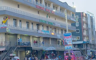 A busy business centre in Eastleigh, Nairobi