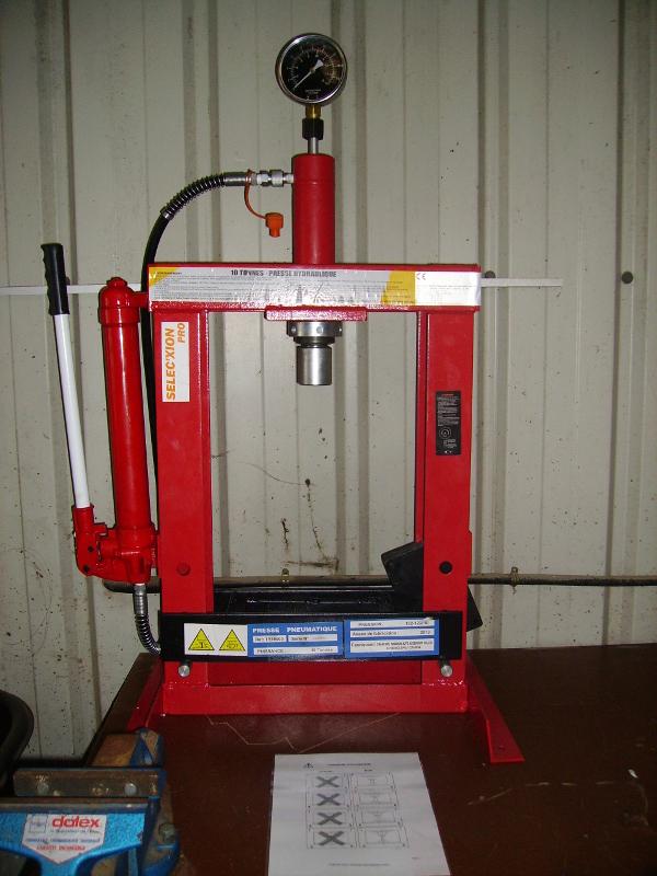 La presse Hydraulique 10T