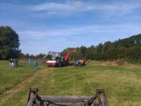 Les tracteurs au complet