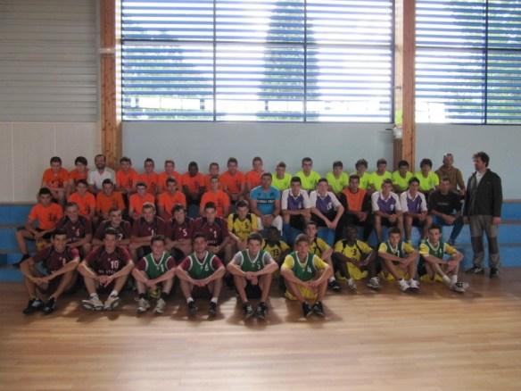 44 joueurs ont participer a cet après-midi.