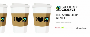 McGill Fair Trade Campus Logo (Source: http://www.mcgill.ca/foodservices/responsible-food/fair-trade)