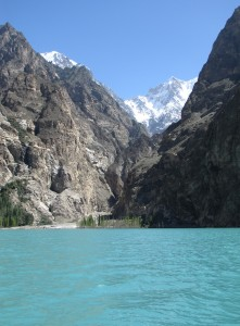 Hunza lake scenery - Ryan Tretter