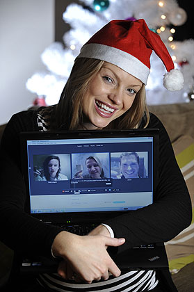 Reunite the gang for a Christmas carol singalong or throw a virtual holiday happy hour. Upgrade to Skype Premium to unlock more features such as group video calls, group screen sharing and unlimited calling to a country/region of your choice. A Fair Usage Policy applies. Depending on the country/region you choose, may include calls to mobiles and landlines, or include landlines only. From $4.99/month based on 12-month subscription; normally $9.99/month.