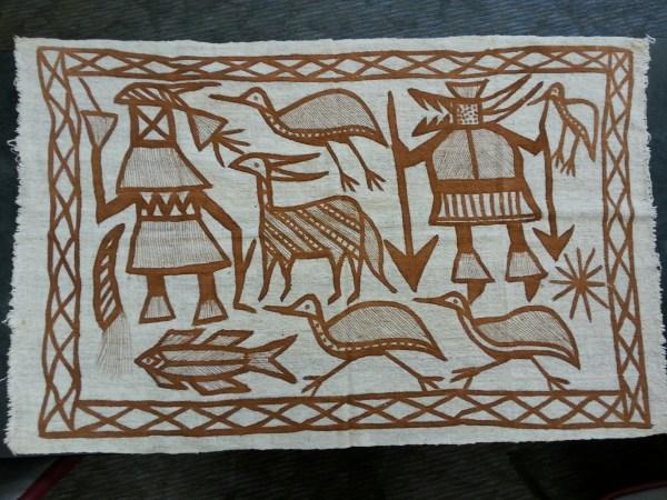 Senufo Mud Cloth Paintings