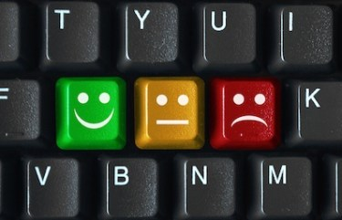 Smiley Survey Keys (Keyboard Buttons Satisfaction Opinion Poll)