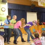 In-School Players performing at elementary school