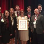 Students, advisors, dean receive honors at international competition