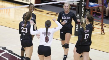 Volleyball Bears picked to repeat as MVC Champions