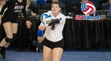 Volleyball's Emily Butters set for Team USA tryout