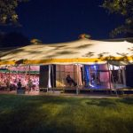 Tent Theatre set for three shows under the night sky