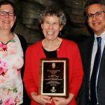 Faculty member honored for environmental excellence