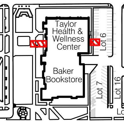 Sidewalk Closures – Taylor Health & Wellness