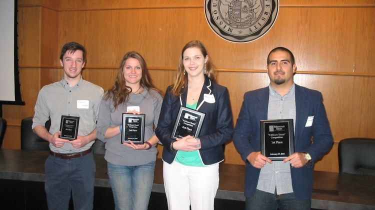 3 Minute Thesis Competition Winners!