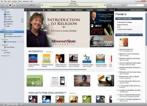 Lora Hobbs in iTunes U