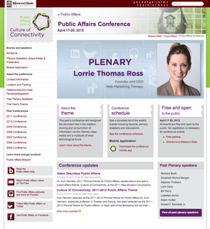 Marketing for Public Affairs Conference