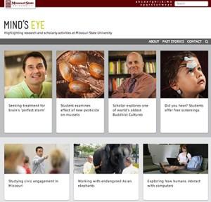 Mind's Eye website