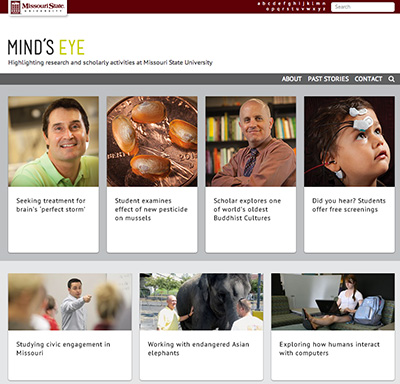 Mind's Eye research site now online
