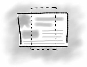 Mobile design illustration