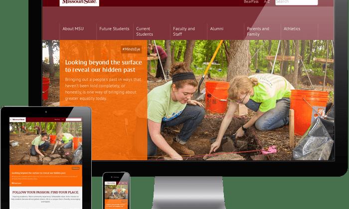Mobile-adaptive homepage debuts