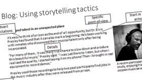 Blog: using storytelling tactics