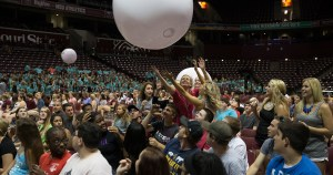 Photos from the August 18, 2014 New Student Convocation held at JQH Arena.