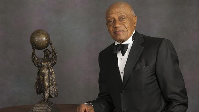 Honoree Jimmy Edwards