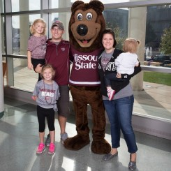 family with boomer