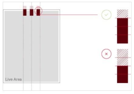 screenshot of correct use grounding bars