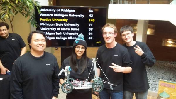 Michigan Tech Biomedical Engineers 2nd Place