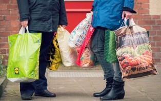 70 Plastiktüten verbraucht der Deutsche pro Jahr: Foto: NABU/S. Hennigs
