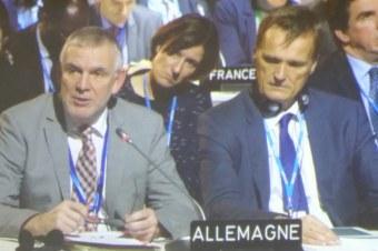 Staatssekretär Jochen Flasbarth berichtet aus der Arbeitsgruppe